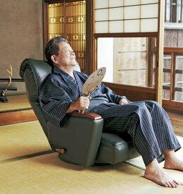 日本製当店最高級プレミアム座椅子本革貼kkym