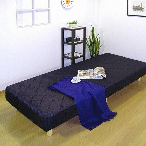 脚付きマットレス・ポケットコイルスプリングプラス低反発ウレタン・セミシングル:送料無料 ベッド ベット