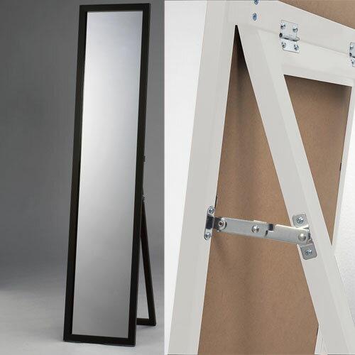 木製スタンドミラー鏡面塗装:画像1