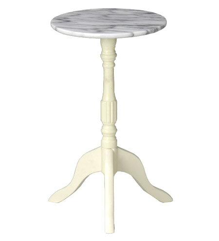 レディクラシック・大理石サイドテーブル(ラウンド):送料無料 コーヒーテーブル