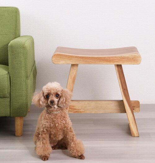 天然木モンキーポッド無垢材仕様スツール椅子
