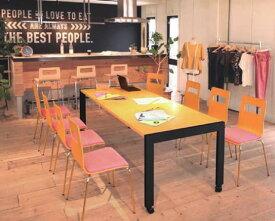 エクステンションテーブル伸縮式 150/180/210cmまで伸びる。キャスター付きでカフェでもオフィスでも利用可能 kkkez
