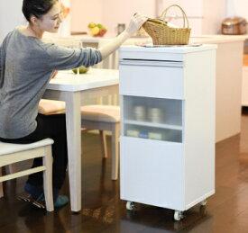 キッチンすきまラックワゴン食器棚