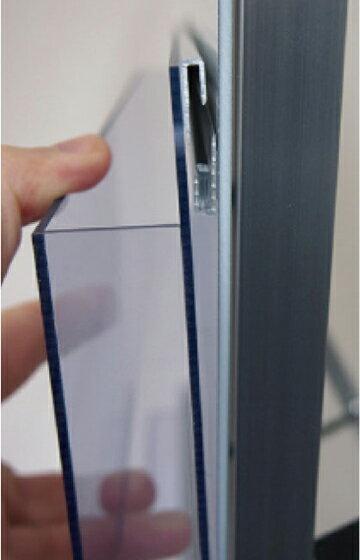 ケーススタンドパンフレットケーススタンド仕切りが可動なので多くのサイズに対応