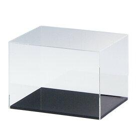 コロナウイルス対策にもなる透明アクリルコレクションケース(底板黒)幅280×奥行180×高さ200mm kkkez