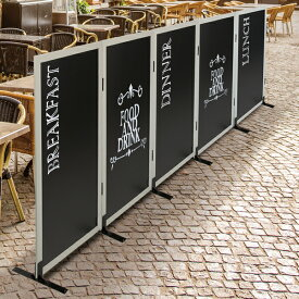 カフェ テラス席用 連結仕様 パーテーション 専用脚付き メニューボード 看板 パーティション 着席間仕切り ウイルス対策 kkkez