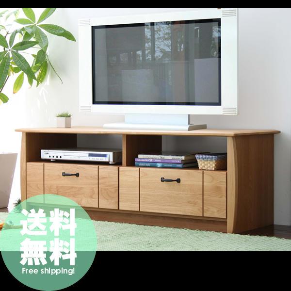オイル塗装 アルダー無垢材仕様 北欧風ナチュラルテレビボード110送料無料
