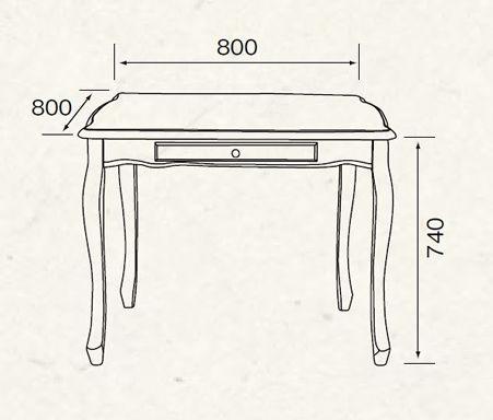 レディクラシック・ダイニングテーブル幅80送料無料RD-T1570
