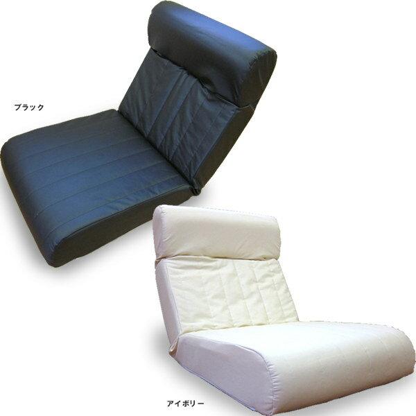 日本製ハイバックソファー1人掛け 脚なし 合皮レザー