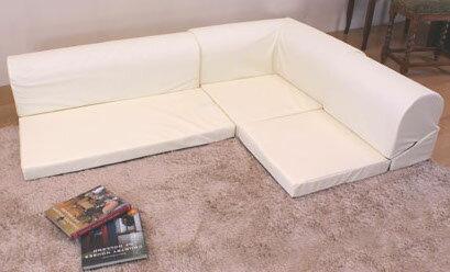 低反発ウレタン仕様合成皮革レザーコーナーソファー::組合自在テレビ枕対応日本製送料無料