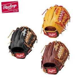 ローリングス Rawlings 野球 一般軟式グラブ オールラウンド用 メンズ レディース 軟式 オールフィルダー用 ハイパーテック カラーズ GR9HTCN65 bb