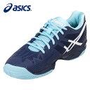 アシックス asics テニスシューズ オールコート用 レディース 18SSソリューションスピード3W AC TLL767-4901