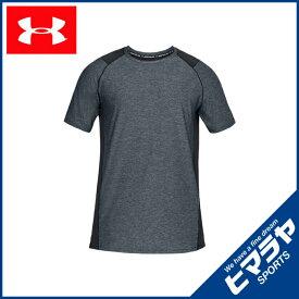 アンダーアーマー スポーツウェア 半袖 メンズ MK-1ショートスリーブ トレーニング Tシャツ 1306428 002 UNDER ARMOUR