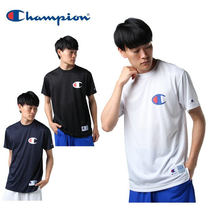 【沖縄県内(離島含)3,240円以上購入で送料無料】チャンピオン Champion バスケットボールウェア 半袖シャツ メンズ DRYSAVER Tシャツ C3-MB352