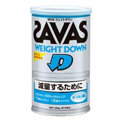 ザバス ZAVAS サプリメント プロテイン ウェイトダウン ヨーグルト風味 336g(16食分) CZ7045