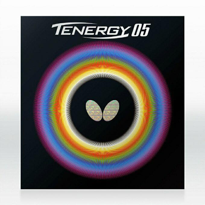 バタフライ(BUTTERFLY) テナジー05 ハイテンション裏ラバー (TENERGY 05) 05800 張本智和使用モデル 卓球ラバー スプリングスポンジ