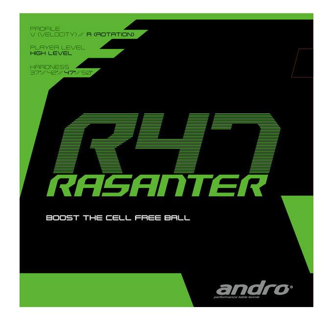 アンドロ(andro) ラザンター アール47 テンション裏ソフトラバー (RASANTER R47) 112288 卓球ラバー
