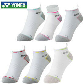 ヨネックス(YONEX) レディース スニーカーインソックス 29124 テニス バドミントン 靴下 抗菌防臭 足底パイル