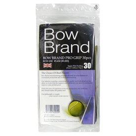 ボウブランド(BOW BRAND) ウェットグリップ プログリップ 30本入り (PRO GRIP) BOW030 テニス バドミントン グリップテープ