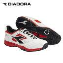 ディアドラ(diadora) スピードチャレンジ2 AG (SPEED CHALLENGE 2 AG) 173005-1425 ホワイト×ブラック 2018年モデル テニスシューズ メンズ レディース オールコート