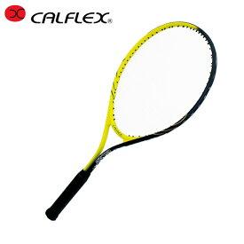 【期間限定 7%OFFクーポン対象】カルフレックス(CALFLEX) ジュニアラケット 26インチ ガット張上げ済み CAL-26-3 硬式テニスラケット アルミ