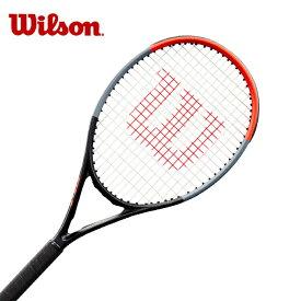 【12/10 20:00〜4時間限定P10倍!】【7%OFFクーポン対象商品】 ウィルソン(Wilson) ジュニアラケット クラッシュ26 ガット張り上げ済み (CLASH 26) WR009010S 硬式テニスラケット フルカーボン