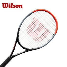 【期間限定 8%OFFクーポン対象】ウィルソン(Wilson) ジュニアラケット クラッシュ25 ガット張り上げ済み (CLASH 25) WR016210S 硬式テニスラケット フルカーボン