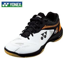 ヨネックス(YONEX) パワークッション65Z2 (POWER CUSHION 65Z 2) SHB65Z2-386 ホワイト/オレンジ 2019年モデル バドミントンシューズ メンズ レディース