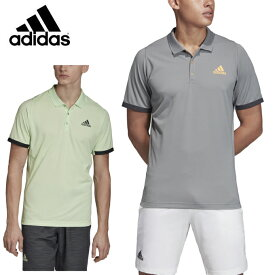 アディダス(adidas) ニューヨーク ポロシャツ (NEWYORK POLO) GHP13 ティエム着用モデル テニスウェア メンズ