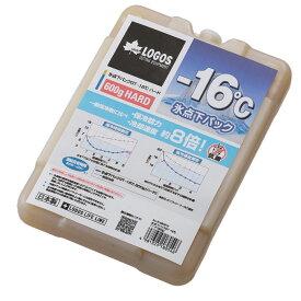 【クーラー水筒クーポン利用で5%OFF 7/19 20:00〜7/26 1:59】 ロゴス 保冷剤 氷点下パックGT-16℃・ハード600g 81660612 LOGOS