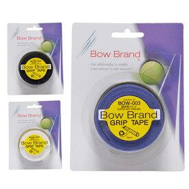 ボウブランド BOW BRAND テニス バドミントン グリップテープ ウェットタイプ 3本入り グリップテープ3本巻き スーパーウェットタイプ 25mm×3pcs BOW003