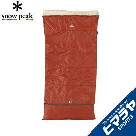 スノーピーク 封筒型シュラフ セパレートシュラフ オフトンワイド BD-103 snow peak