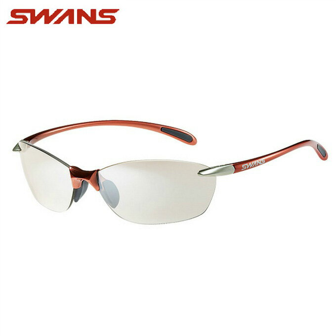 スワンズ SWANSサングラスエアレス リーフ ミラーレンズ メンズ レディースSA-606
