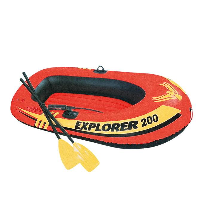 インテックス INTEXボートエクスプローラー200 セット58331