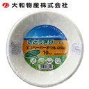 大和物産 Daiwabussan 使い捨て食器 皿 エコペーパーボウル400ml 10枚入