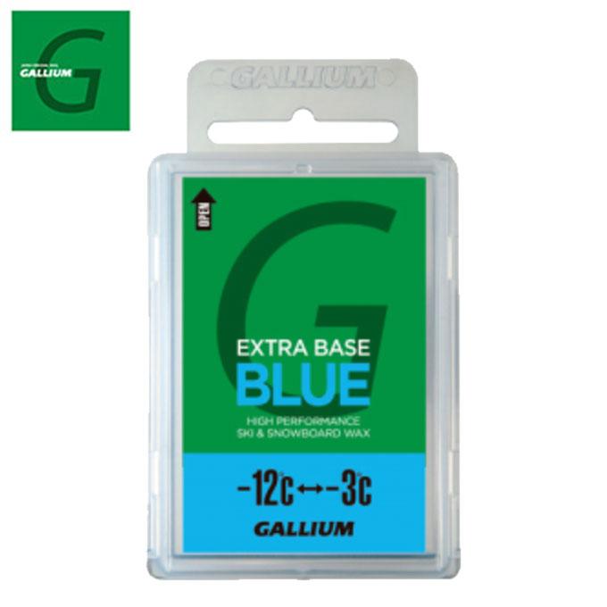 GALLIUM ガリウム固形ワックスEXTRA BASE BLUE 100gSW2074