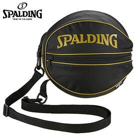 スポルディング(SPALDING) バスケットボール バッグ BALL BAG(BK/GD) 49-001GD