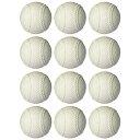 【公認球】マルエス 軟式野球ボールA号 公認検定球 ダース売り 12個