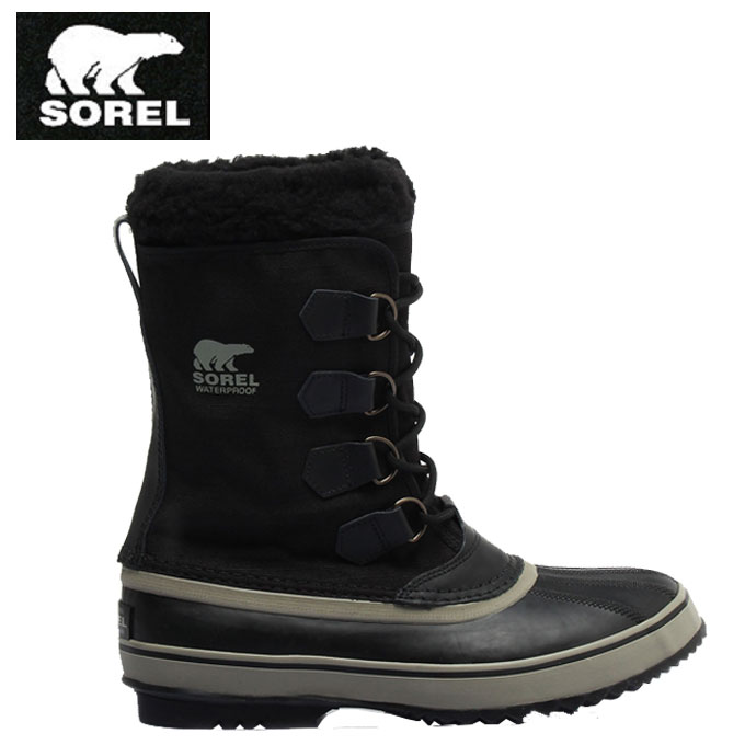 ソレル SOREL スノーブーツ・冬靴 メンズ レディース 1964パックナイロン NM1440 011