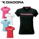 ディアドラ DIADORAテニス バドミントン ウェアTシャツ プラクティスシャツ レディースAP4337