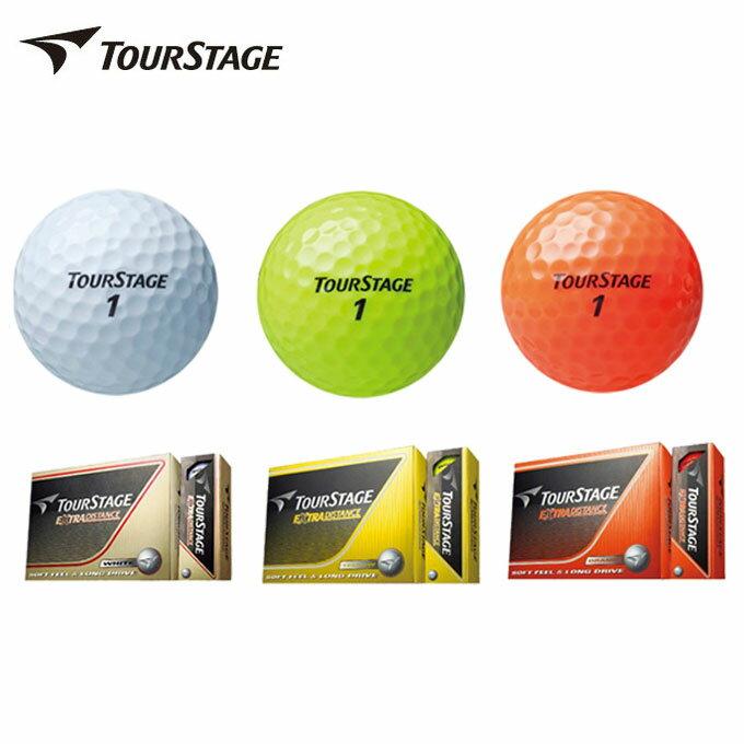 ブリヂストン ゴルフボールツアーステージ TOURSTAGEエクストラディスタンス EXTRA DISTANCE1ダース 12個入り