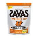 ザバス サプリメント プロテイン ウェイトアップ バナナ風味 1260g 60食分 CZ7037 SAVAS