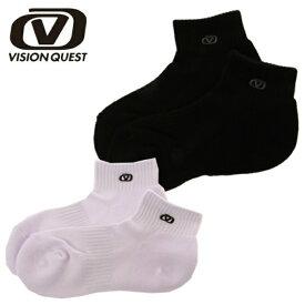 ビジョンクエスト(VISION QUEST) バスケットボール メンズ レディース ショートソックス VQ570407D01