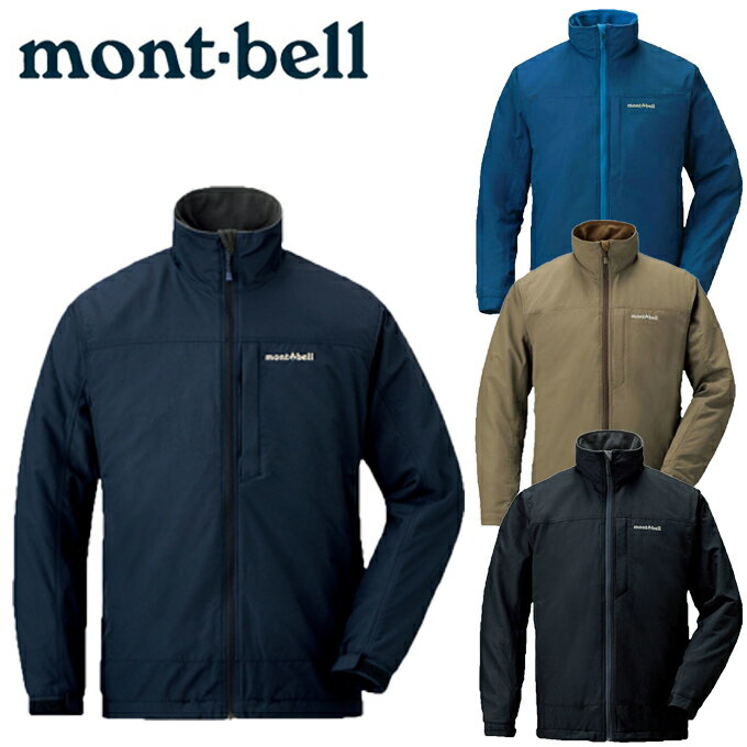 モンベル アウトドア ジャケット メンズ レディース クリマプラス100 ウィズシェルジャケット 1102325 mont bell mont-bell