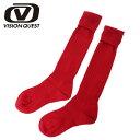 ビジョンクエスト VISION QUESTジュニアサッカーストッキング RDVQ540501D37サッカーアクセサリー ソックス 靴下 ジュニア