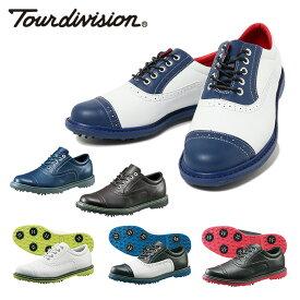 ツアーディビジョン Tour division ゴルフシューズ ソフトスパイク メンズ クラシックスタイル TD230101E01
