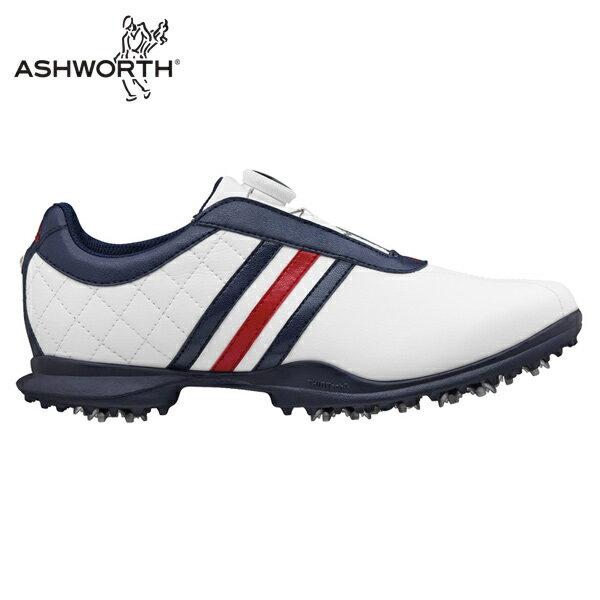 アディダス ドライバーBOA WH/BL Q44805 ゴルフシューズ ソフトスパイク ゴルフスパイク レディース adidas