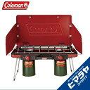 コールマン Colemanバナー ツーバーナーLPツーバーナーストーブレッド2000021950アウトドア ストーブ キャンプ BBQ バーベキュー