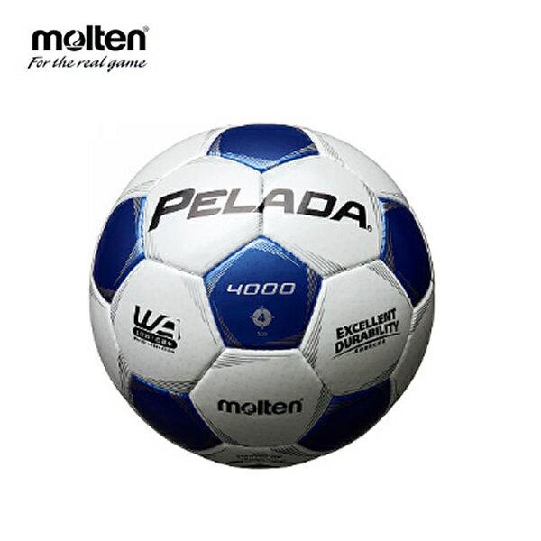 モルテン moltenサッカーボール4号球 小学校用 ジュニアペレーダ4000F4P4000-WB検定球