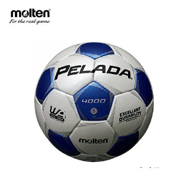 モルテン moltenサッカーボール5号球 検定球 中学校 高校 一般ペレーダ4000F5P4000-WB